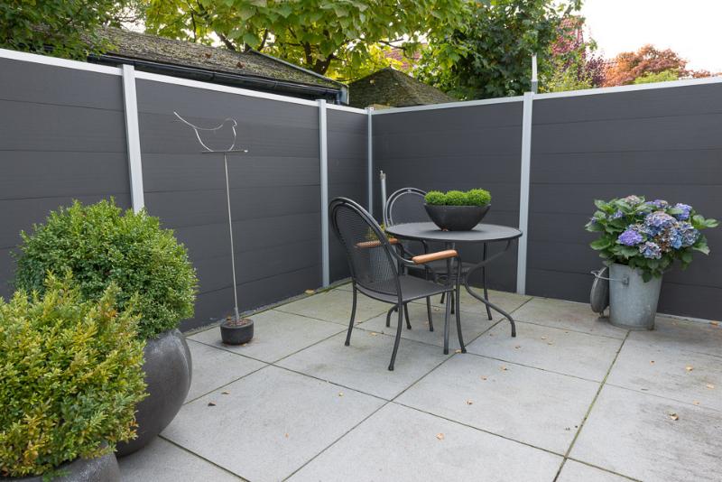Schutting tuin loungeset 2017 for Schutting tuin