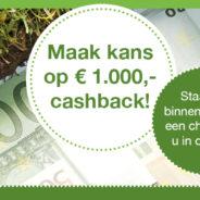 Wat zou jij met € 1.000 doen?